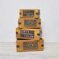 Frys Chocolate Vintage Wooden Box